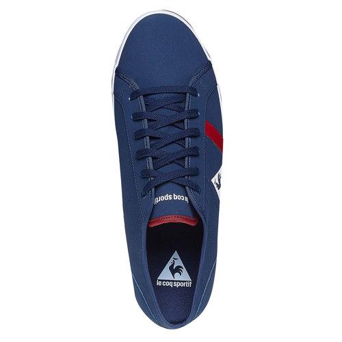 Sneakers alla moda da uomo le-coq-sportif, blu, 801-9345 - 19