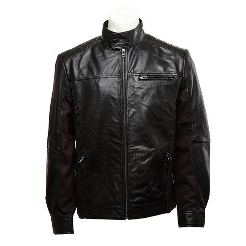 giacca in pelle da uomo bata, nero, 974-6148 - 13