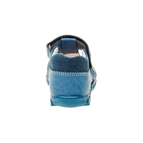 Sandali da ragazzo con chiusura a velcro primigi, blu, 111-9139 - 17