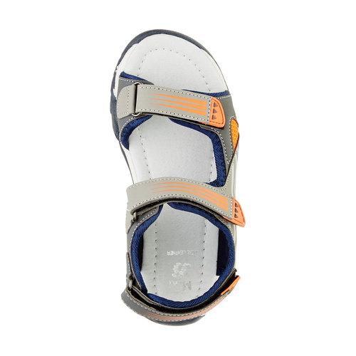 Sandali da bambino mini-b, grigio, 261-2168 - 19