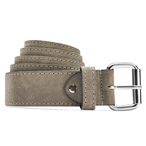Cintura da donna in pelle bata, grigio, 953-2106 - 13