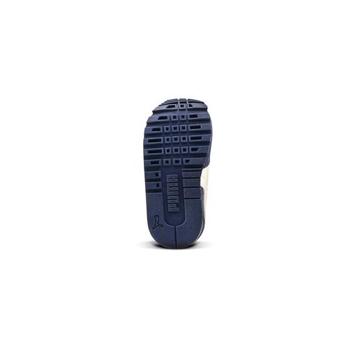 Sneakers di pelle da bambino puma, blu, 103-9182 - 17