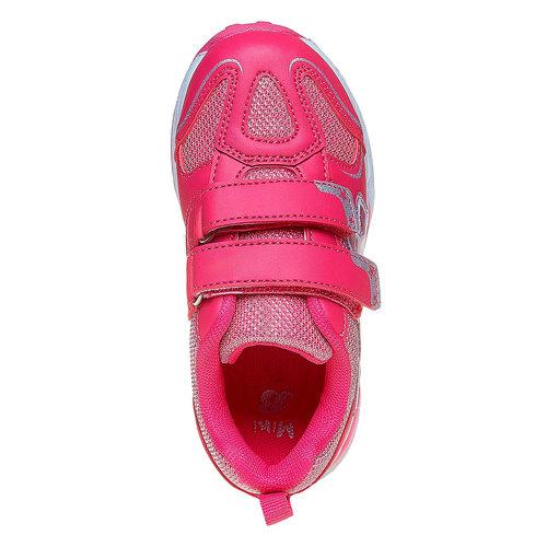 Sneakers rosa da ragazza con fata mini-b, rosa, 221-5177 - 19