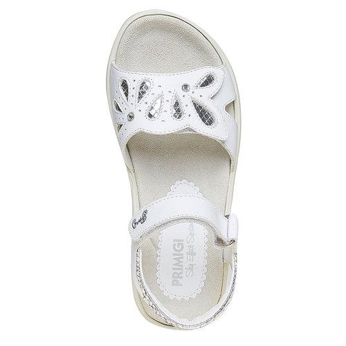 Sandali bianchi in pelle primigi, bianco, 364-1133 - 19