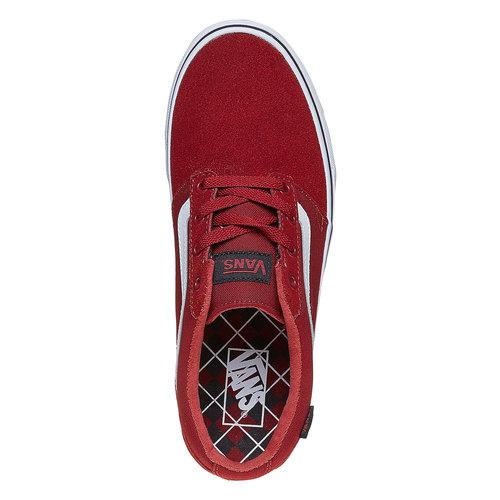 Sneakers da uomo in pelle vans, rosso, 803-5303 - 19