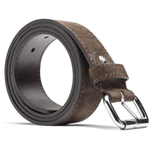 Cintura in pelle bata, beige, 953-8106 - 26
