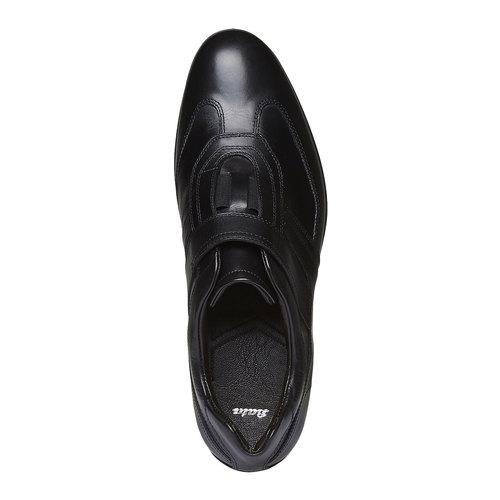 Sneakers da uomo in pelle bata, nero, 814-6989 - 19