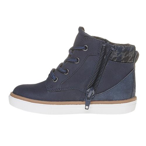 Sneakers da bambino alla caviglia mini-b, blu, 211-9169 - 19
