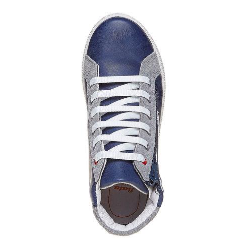 Sneakers da bambino flexible, blu, grigio, 311-2233 - 19