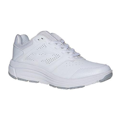 Sneakers bianche sportive da donna lotto, bianco, 501-1156 - 13