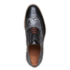 Oxford di pelle con suola appariscente bata-the-shoemaker, grigio, 824-2132 - 19