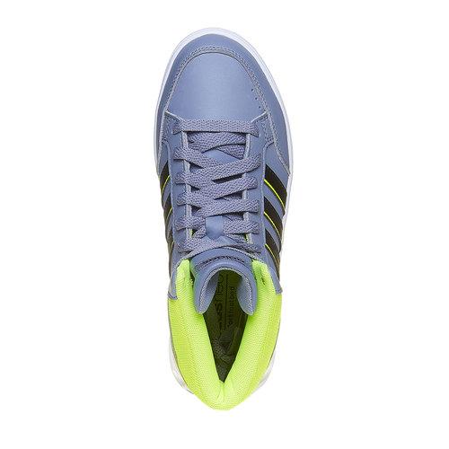 Sneakers da bambina alla caviglia adidas, grigio, 401-2231 - 19