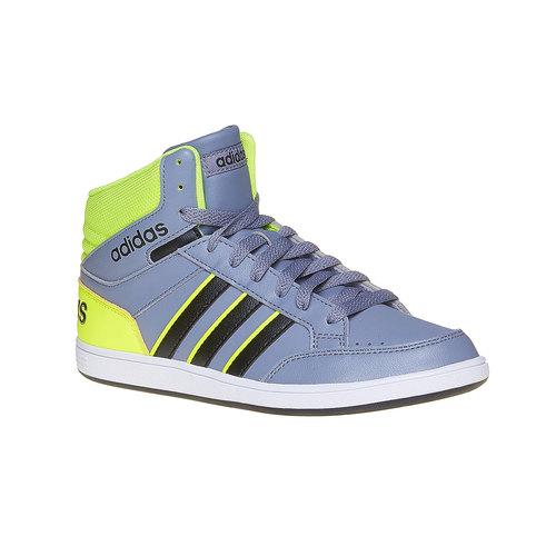 Sneakers da bambina alla caviglia adidas, grigio, 401-2231 - 13