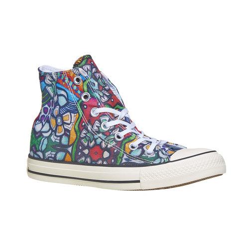 Sneakers alla caviglia con stampa colorata converse, 589-0316 - 13