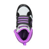 Sneakers da bambina alla caviglia adidas, grigio, 101-2231 - 19