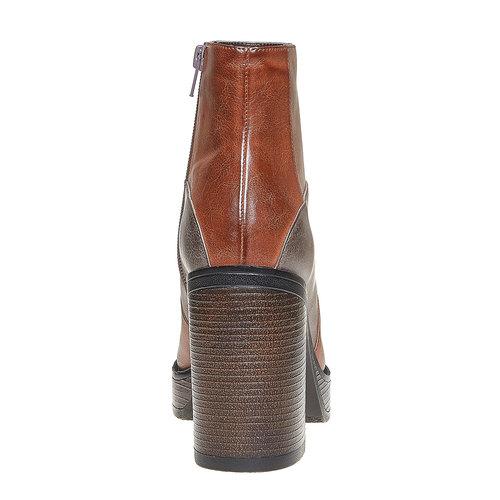 Stivaletti alla moda bata, marrone, 791-3301 - 17