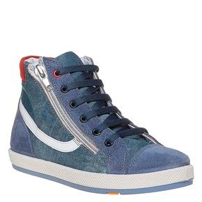 Sneakers da bambino alla caviglia flexible, viola, 311-9233 - 13