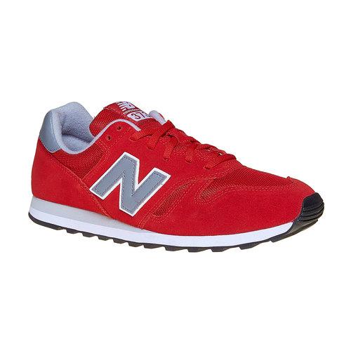 Sneakers rosse da uomo new-balance, rosso, 803-5371 - 13