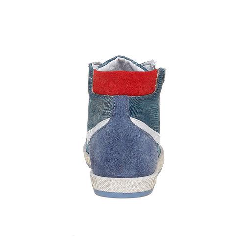 Sneakers da bambino alla caviglia flexible, viola, 311-9233 - 17