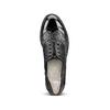Oxford da donna con glitter bata, nero, 511-6240 - 17
