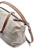 Borsetta di pelle in stile Hobo bata, grigio, 963-2130 - 15