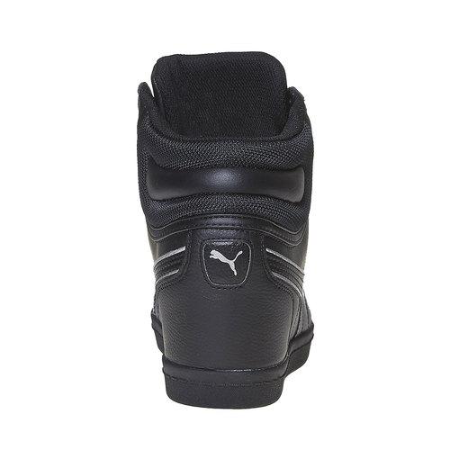 Sneakers da donna alla caviglia puma, nero, 501-6319 - 17
