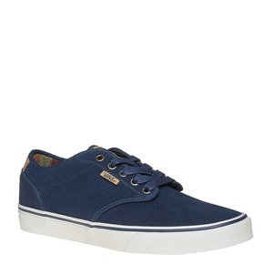 Sneakers da uomo in pelle vans, blu, 803-9304 - 13