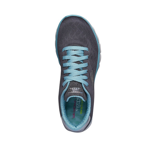 Sneakers da corsa da donna skechers, grigio, 509-2259 - 19