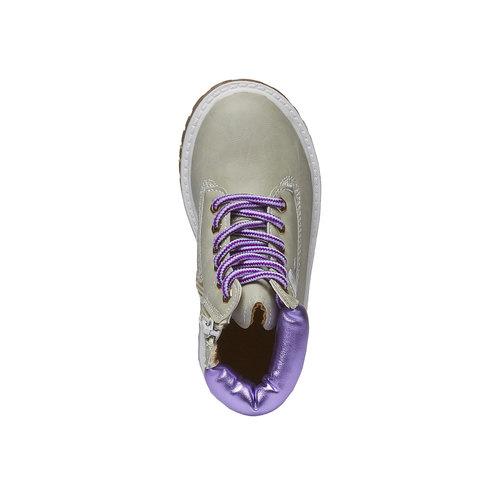 Scarpe alla caviglia con suola appariscente, grigio, 291-2139 - 19