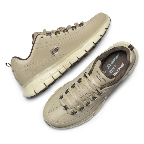 Sneakers da donna in pelle skechers, beige, 503-3323 - 19