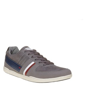 Sneakers informali da uomo bata, grigio, 841-2212 - 13