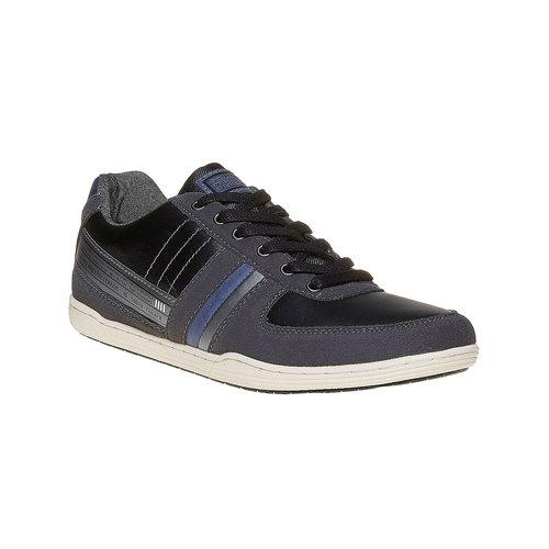 Sneakers da uomo bata, nero, 841-6212 - 13