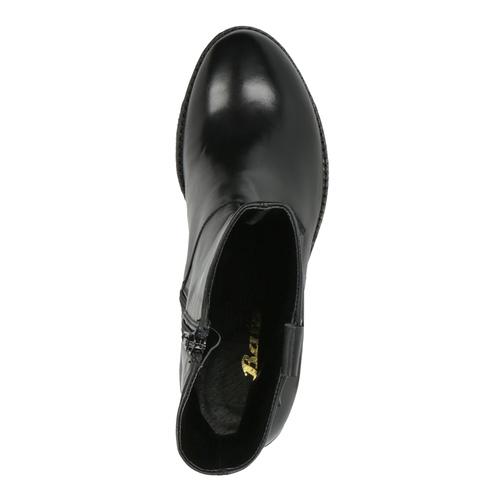 Stivaletti da donna alla caviglia bata, nero, 694-6359 - 19