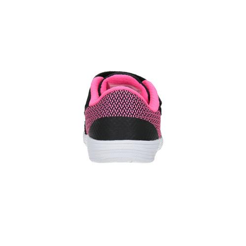 Sneakers da bambina alla moda nike, nero, 109-6322 - 17