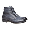 Scarpe da uomo in pelle alla caviglia bata, viola, 894-9483 - 26