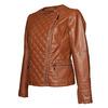 Giacca da donna con cerniera trasversale bata, marrone, 971-3186 - 16