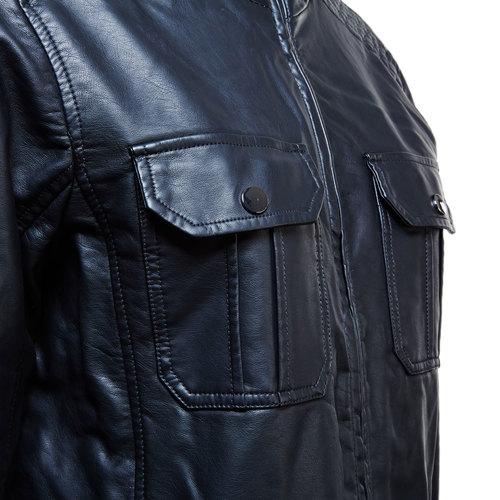 Giacca da uomo con tasche sul petto bata, nero, 971-6169 - 16