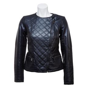 Giacca da donna con cerniera trasversale bata, nero, 971-6186 - 13