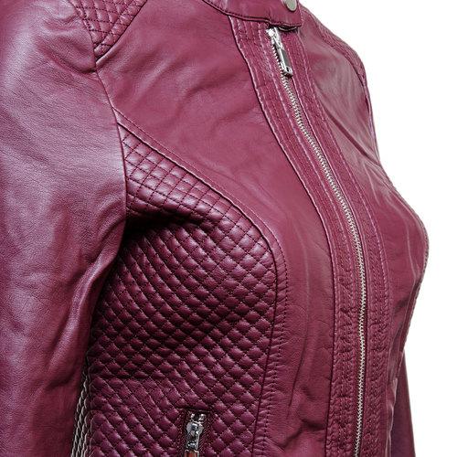 Giacca da donna con cuciture bata, rosso, 971-5183 - 16