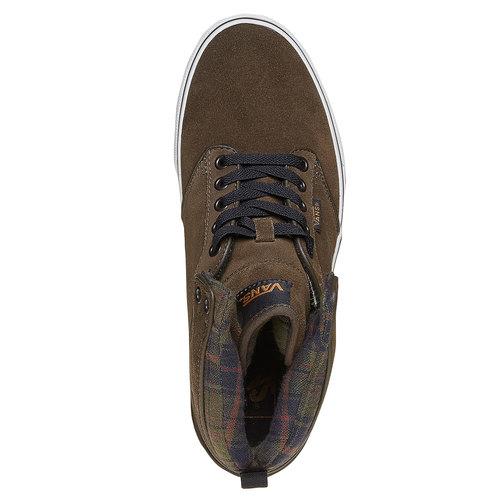 Sneakers Vans di pelle alla caviglia vans, marrone, 803-7309 - 19