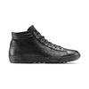 Sneakers da donna alla caviglia bata, nero, 594-6659 - 26