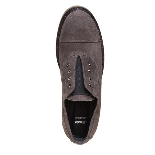 Slip-on da donna bata, grigio, 513-2248 - 19