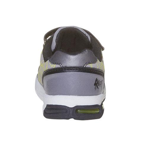 Sneakers da bambina con stampa, grigio, 311-2229 - 17
