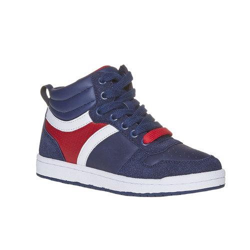 Sneakers da bambino alla caviglia mini-b, blu, 311-9232 - 13