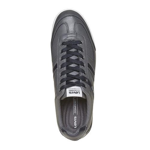 Sneakers informali da uomo levis, grigio, 841-2210 - 19