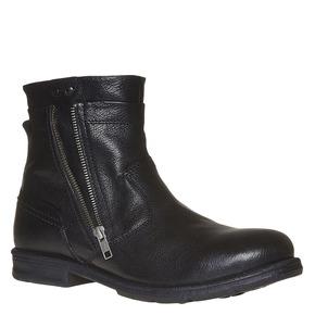 Scarpe in pelle alla caviglia bata, nero, 894-6311 - 13