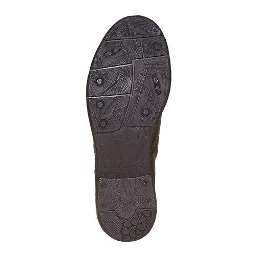 Scarpe da uomo alla caviglia bata, marrone, 894-4311 - 26