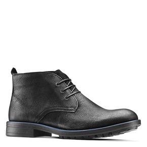 Chukka Boots da uomo in pelle bata, nero, 894-6282 - 13