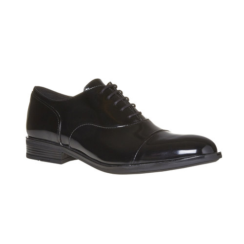 Scarpe basse verniciate da uomo bata, nero, 821-6503 - 13