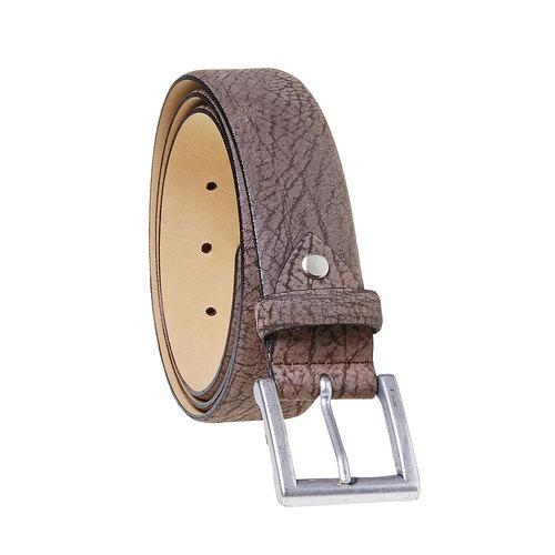 Cintura di pelle da uomo bata, marrone, 954-4216 - 13